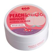 Патчи Peach Hibiscus Hydrogel Гидрогелевые с Экстрактами Персика и Гибискуса, 60 шт