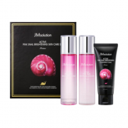 Набор Pink Snail Brightening Skin Care Set Prime для Сияния Кожи с Муцином Улитки, 135+135+100 мл