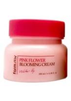 Крем для Лица с Экстрактом Водяной Лилии Pink Flower Blooming Cream Water Lily, 100 мл