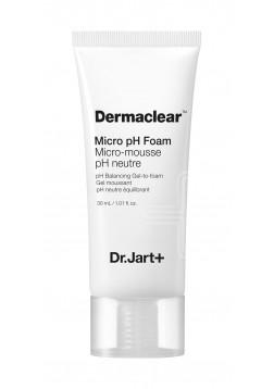 Гель-Пенка для Умывания Глубокого Очищения PH 5.5 Dermaclear Micro pH Foam, 30 мл