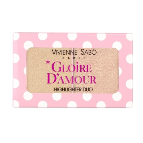 Vivienne Sabo Палетка Gloire D'amour Хайлайтеров Мини тон 02, 6г недорого