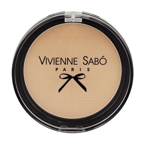 Vivienne Sabo Пудра Poudre Matifiante Compacte Joli Secret Компактная Матирующая Круглая тон 02, 8,5г недорого
