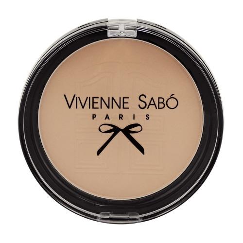 Vivienne Sabo Пудра Poudre Matifiante Compacte Joli Secret Компактная Матирующая Круглая тон 03, 8,5г недорого