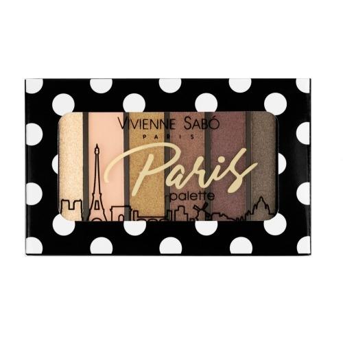 Vivienne Sabo Палетка Paris Теней для Век Мини тон 02, 6г