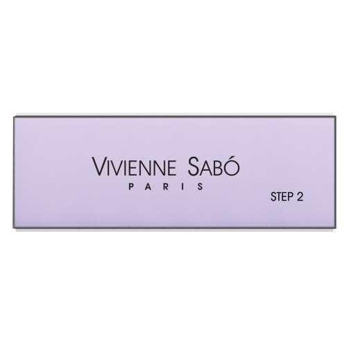 Vivienne Sabo Пилка Nail Polishing Buff для Полировки Ногтей 4-х Сторонняя, 1 шт недорого