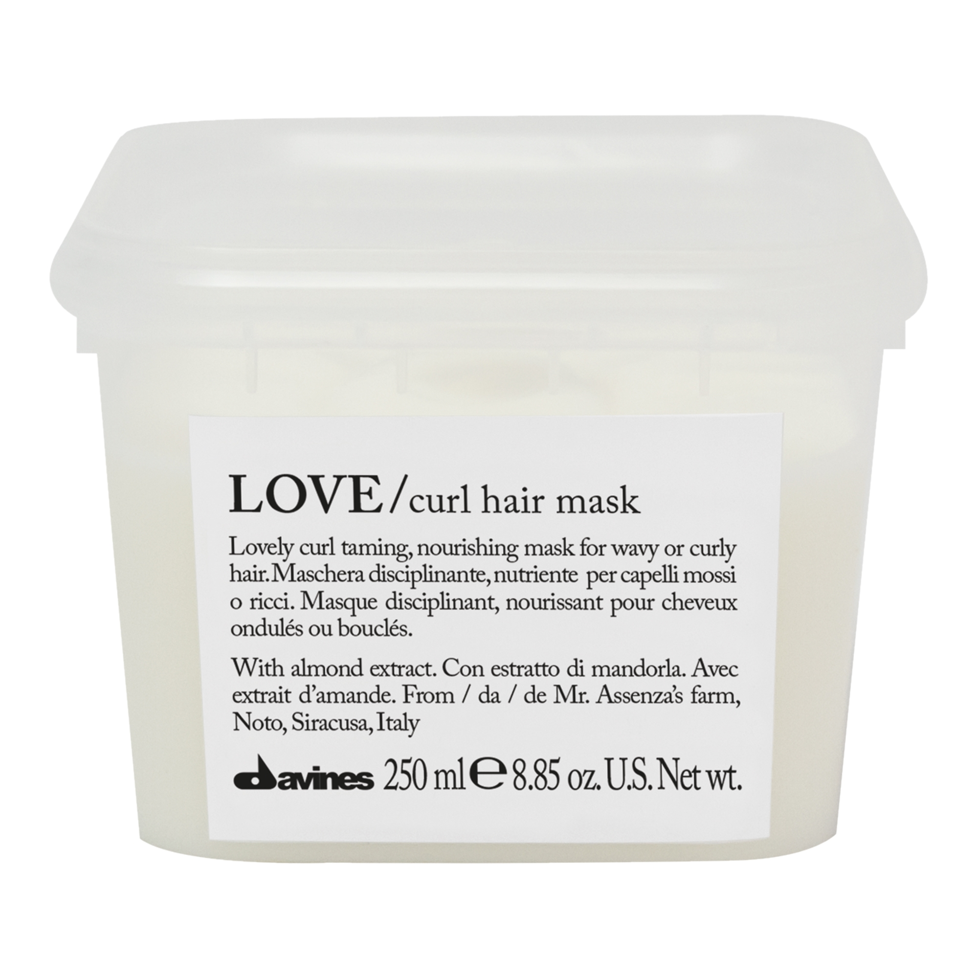 Davines Маска Усиливающая Завиток Love Curl, 250 мл davines контроллер для усиления завитка love curl 150 мл
