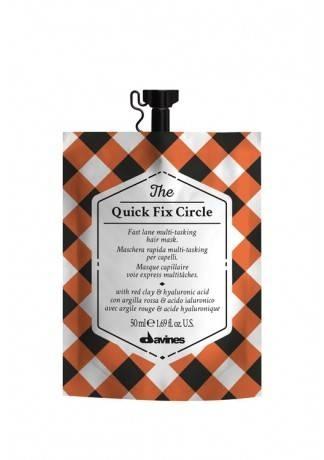 Davines Супербыстрая Многофункциональная Маска для Волос The Quick Fix Circle, 50 мл