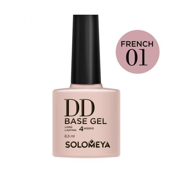 Solomeya DD-База DD Base Gel Суперэластичная Цвет French 01, 8,5 мл