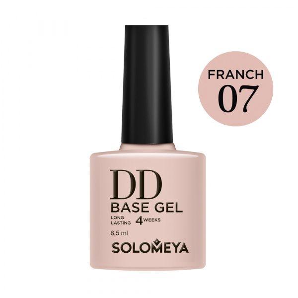 Solomeya DD-База DD Base Gel Суперэластичная Цвет French 07, 8,5 мл