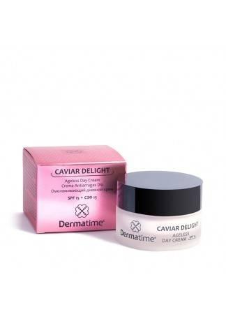 Dermatime Крем Омолаживающий Дневной СЗФ15 Caviar Delight, 50 мл keenwell крем для восстановления упругости кожи с сзф 15 дневной densilift 50 мл
