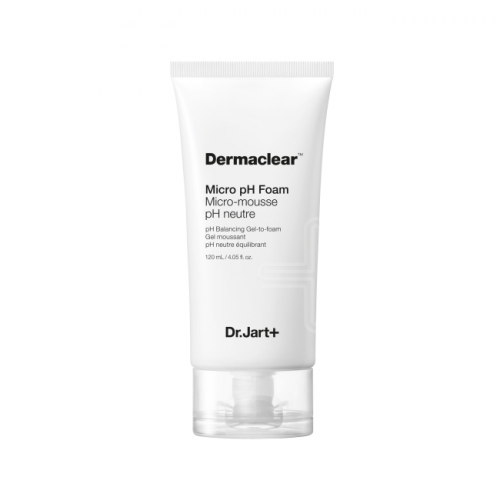 Dr.Jart+ Гель-Пенка для Умывания Глубокого Очищения PH 5.5 Dermaclear Micro pH Foam,  120 мл цена