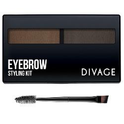 Divage Набор для Моделирования Формы Бровей №02 Eyebrow Styling
