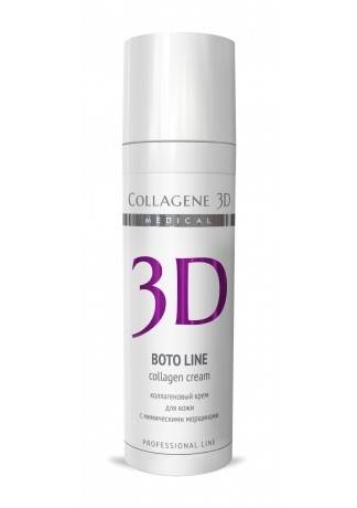 Collagene 3D Крем для лица с Syn®-ake комплексом, коррекция мимических морщин Boto, 30 мл collagene 3d сыворотка для глаз для коррекции мимических морщин boto 10 мл