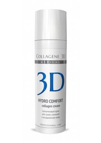Collagene 3D Крем для лица с аллантоином, раздраженной и сухой кожи Hydro Comfort, 30 мл