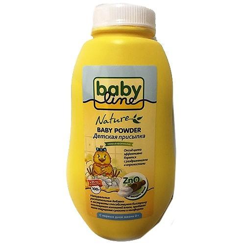 BABYLINE Присыпка Nature Детская с Цинком, 125г