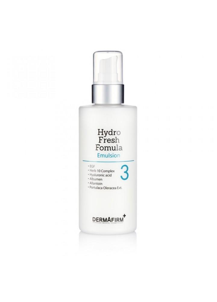 Dermafirm Эмульсия Hydro Fresh Formula, 200 мл ревитализирующая эмульсия skin youth formula trend edition