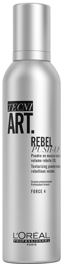 LOreal Professionnel Мусс Tecni.Art Rebel Push Up Пудровый Ребел Пуш Ап, 250 мл