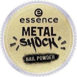 Essence Эффектная Пудра для Ногтей B-To-B Metal Shock Nail Powder, Золотой тон 04 essence b to b eyebrow gel colour