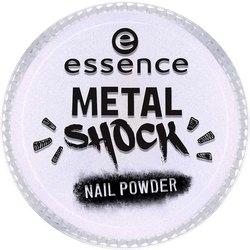 Essence Эффектная Пудра для Ногтей B-To-B Metal Shock Nail Powder, Синий Перламутр тон 05