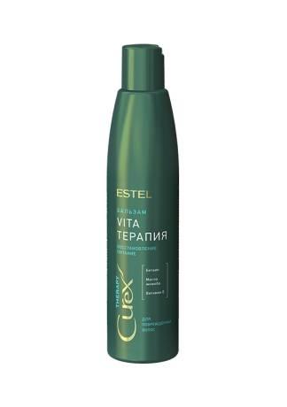 ESTEL CUREX Therapy Крем-Бальзам для Сухих, Поврежденных и Ослабленных Волос, 250 мл