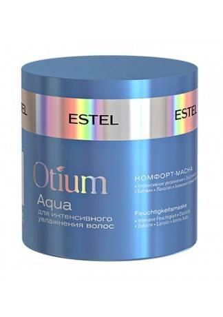 ESTEL Otium Aqua Комфорт-Маска для Интенсивного Увлажнения Волос, 300 мл estel otium aqua комфорт маска для интенсивного увлажнения волос 300 мл