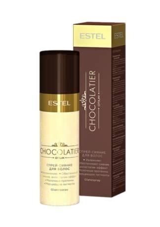 ESTEL Спрей-Сияние для Волос Chocolatier, 100 мл цены онлайн