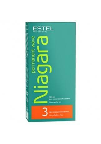 ESTEL Niagara Набор №3 для Окрашенных Волос, 2*100 мл estel niagara набор 3 для окрашенных волос 2 100 мл
