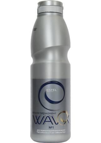 ESTEL WAVEX Лосьон-Перманент №1 для Трудноподдающихся Волос, 500 мл