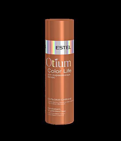 ESTEL Бальзам-сияние Otium Color Life для Окрашенных Волос, 200 мл estel color life бальзам сияние для окрашенных волос 1000 мл