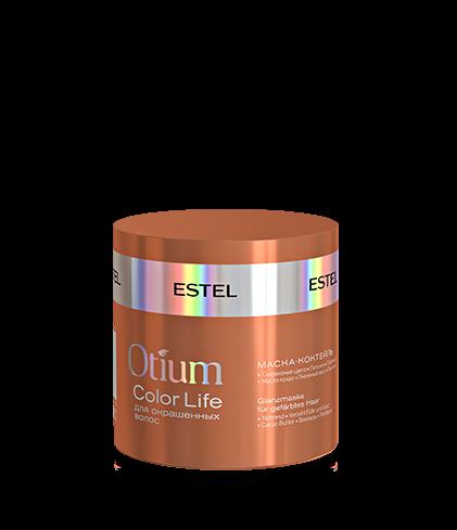 ESTEL Маска-Коктейль Otium Color Life для Волос Яркость цвета, 300 мл