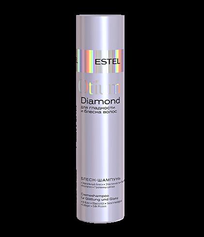 ESTEL Diamond Шампунь-блеск для Гладкости и Блеска Волос, 250 мл estel diamond масло драгоценное для гладкости и блеска волос 100 мл