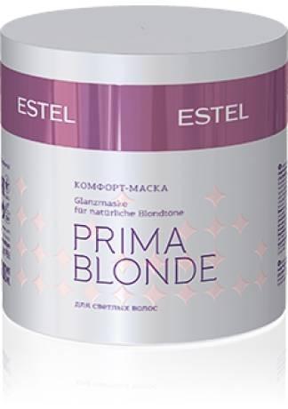 ESTEL Otium Prima Blonde Маска-Комфорт для Светлых Волос, 300 мл estel otium aqua комфорт маска для интенсивного увлажнения волос 300 мл
