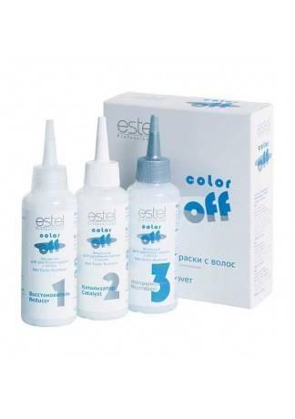 ESTEL Эмульсия Color Off для Удаления Краски с Волос, 3*120 мл
