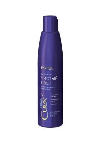купить ESTEL CUREX Бальзам Серебристый для Холодных Оттенков Блонд, 250 мл онлайн