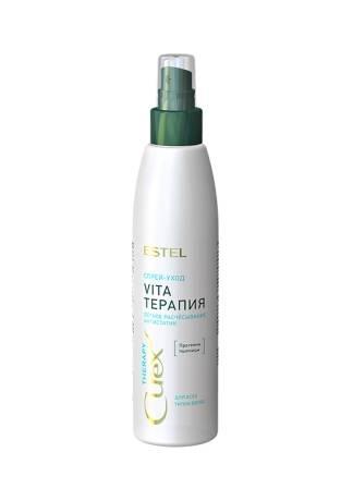 ESTEL CUREX Therapy Спрей-Уход для Облегчения Расчесывания Волос, 200 мл curex therapy спрей уход облегчение расчесывания для всех типов волос эстель spray conditioner 200 мл