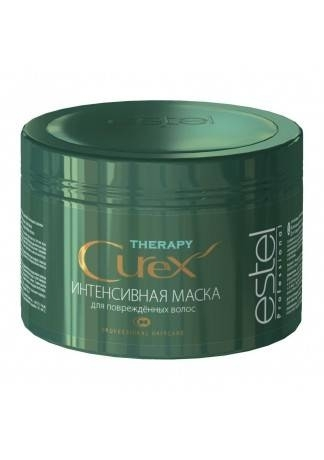 ESTEL CUREX Therapy Маска Интенсивная для Поврежденных Волос, 500 мл laggie clay moist маска интенсивная для сильно поврежденных волос clay moist маска интенсивная для сильно поврежденных волос