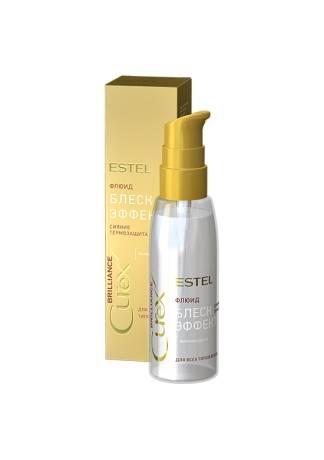 ESTEL CUREX BRILLIANCE Флюид-Блеск для Волос с Термозащитой, 100 мл nook флюид для непослушных волос sweet relax 100 мл