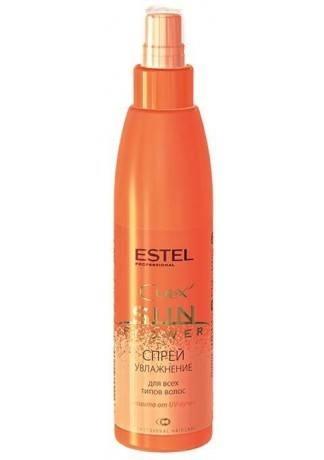 ESTEL Спрей CUREX Sun Flower Увлажнение и Защита с UV-Фильтром, 200 мл