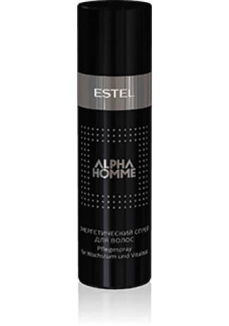 ESTEL Спрей Alpha Homme Энергетический для Волос, 100 мл