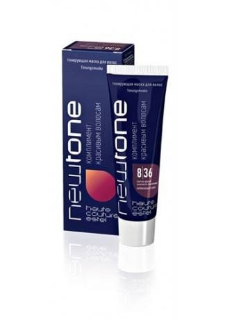 цена на ESTEL Маска для Волос Тонирующая Newtone 8/36 Светло-Русый Золотисто-Фиолетовый, 60 мл