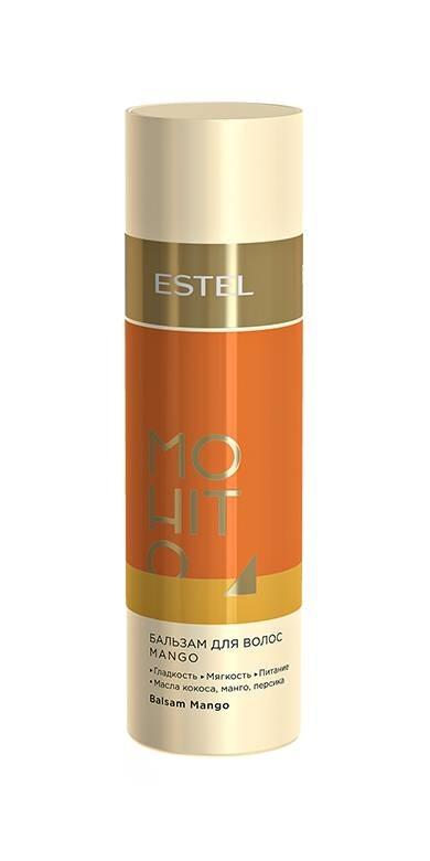 ESTEL MOHITO Бальзам для Волос Манго, 200 мл estel бальзам для волос luxury hair 200 мл