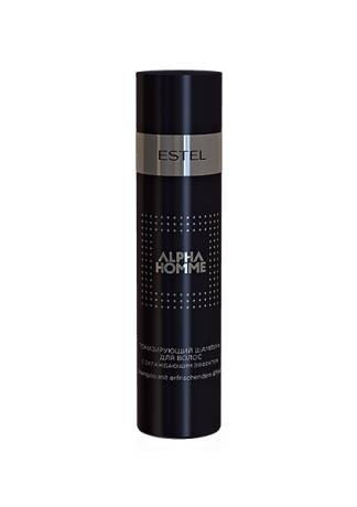 ESTEL ALPHA HOMME Шампунь Тонизирующий для Волос с Охлаждающим Эффектом, 250 мл estel alpha homme набор масло для бритья гель для душа шампунь тонизирующий