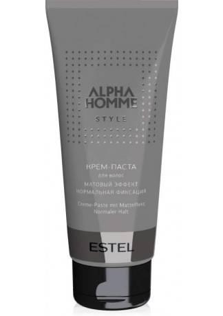 цены ESTEL ALPHA HOMME Крем-Паста для Волос с Матовым Эффектом, 100г