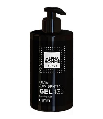 ESTEL ALPHA HOMME Гель для Бритья, 435 мл estel alpha homme набор масло для бритья гель для душа шампунь тонизирующий