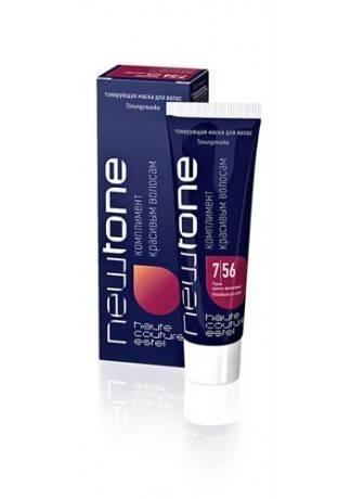 ESTEL Маска для Волос Тонирующая Newtone 7/56 Русый Красно-Фиолетовый, 60 мл стоимость