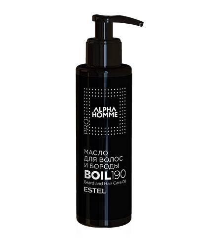 ESTEL Масло Alpha Homme Pro для Волос и Бороды, 190 мл
