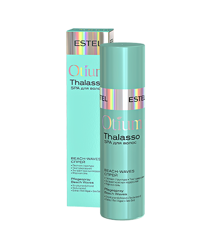 ESTEL OTIUM Thalasso Спрей BEACH-WAVES для Волос, 100 мл estel otium thalasso спрей для волос морская пена 100 мл