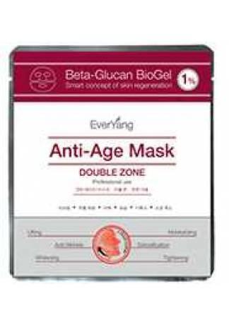 EverYang Омолаживающая  лифтинг-маска для лица и глаз Beta-Glucan BioGel 1% Anti-Age Mask, 1 шт цены