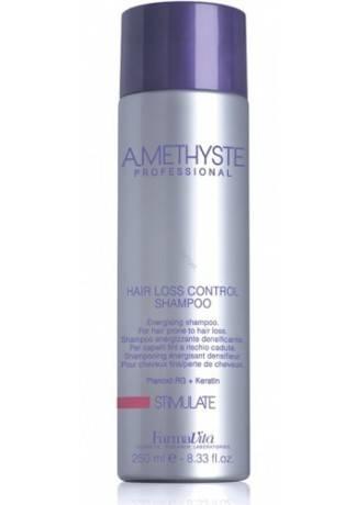 Farmavita Шампунь Против Выпадения Волос Amethyste Stimulate Hair Loss Control, 250 мл farmavita шампунь для сухих и поврежденных волос amethyste hydrate 250 мл