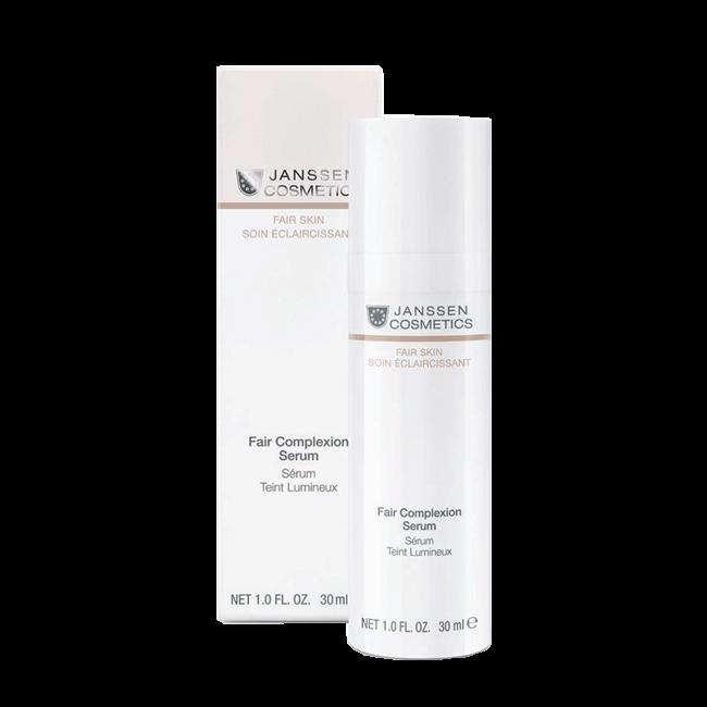 Janssen Fair Complexion Serum Интенсивно Осветляющая Сыворотка, 30 мл janssen optimal tinted complexion cream отзывы